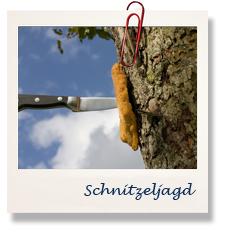 Schnitzel am Baum