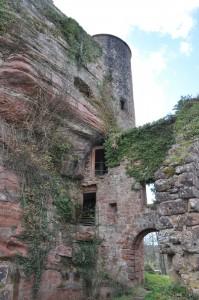 Burgenruine, im Geocaching-Urlaub entdeckt