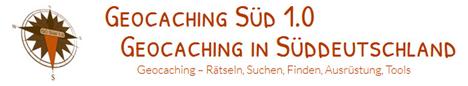 Banner Geocaching Süd 1.0 - Geocaching in Süddeutschland